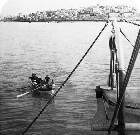 Jaffa, The city from the sea, circa 1900