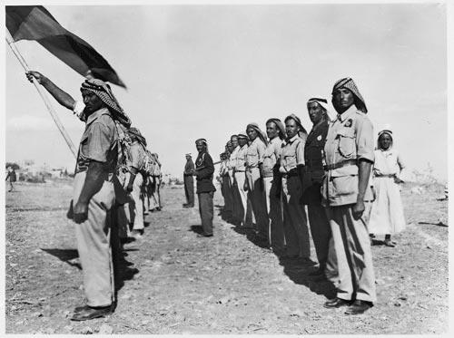 studio rissas (rassas, ibrahim rassas, chalil [khalil] rassas),  fighters, 1948