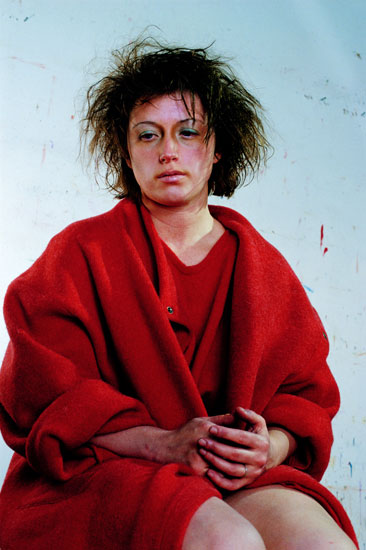cindy sherman, untitled (#137), 1984, color photograph,courtesy of the artist and metro pictures