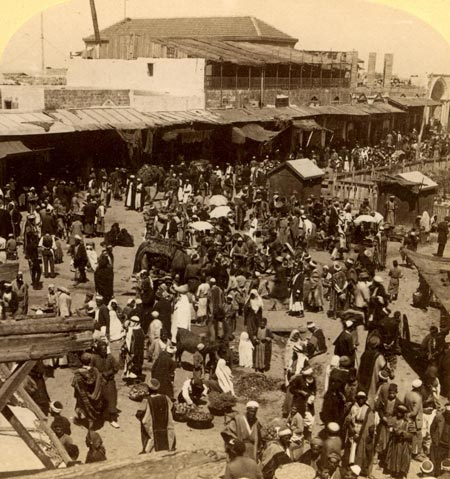 Jaffa, the market, 1899