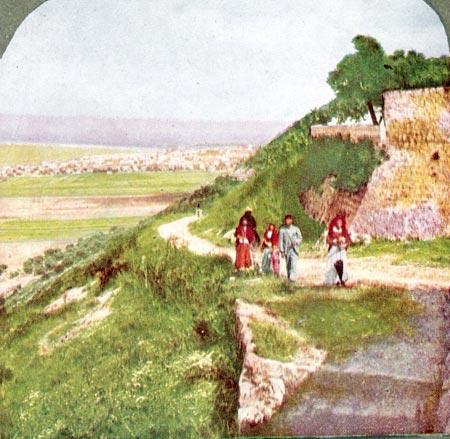 Haifa, Mount Carmel, 1904