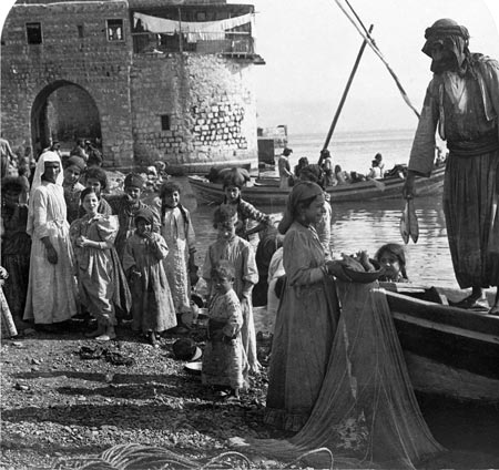 Tiberius, the Kinneret Lake, circa 1900
