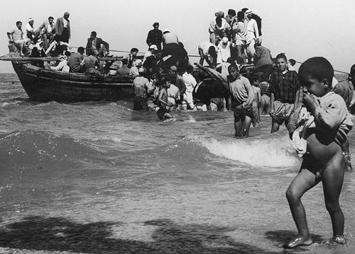 hrnat nakashian, refugees, gaza, late 1940s-early 1950s, courtesy saro nakashian