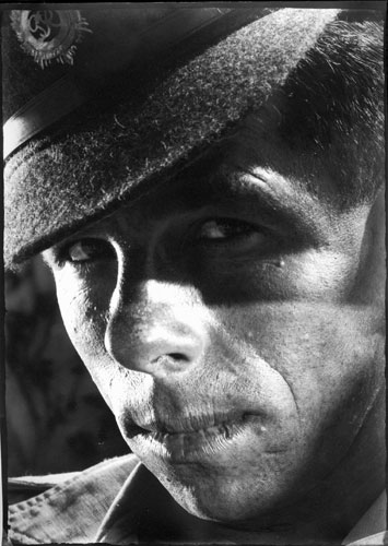 helmar lerski, from the series  jewish soldiers, 1942-1943, the series was shown at the exhibition  the changed face, courtesy yoav marom