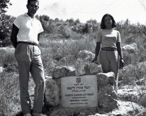 david & gisele littman, 1967