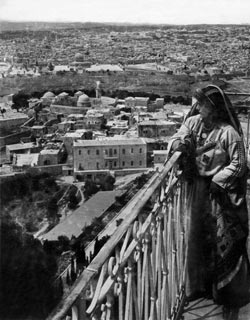 chalil raad, jerusalem from the russian tower