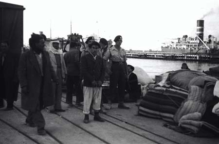 Palestinians who left the city due to the war of 1948