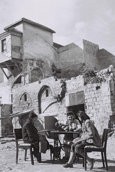 Jaffa, Jewish immigrants, 1949