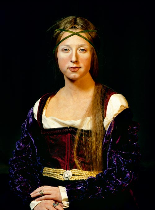 cindy sherman,  untitled (#209), 1989, color photograph, courtesy of the artist and metro pictures