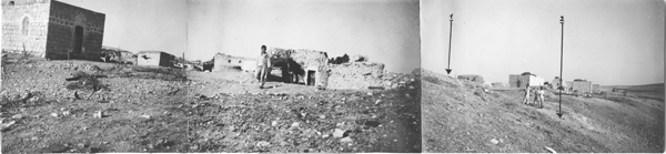 patrols of the palmach/technical department, from the village file of hulda, 1947. israel defence force and ministry of defense archive, intelligence gathering