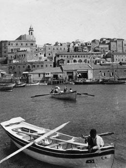 ח'ליל ראאד, המעגן, נמל יפו