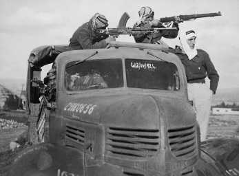 ח'ליל ריסס (רסאס), לוחמים באזור ירושלים, 1948, הארכיון לתולדות ההגנה, באדיבות משפחת רסאס