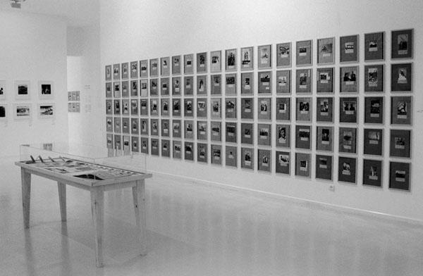 מוזיאון הרצליה לאמנות, מראה התערוכה, החדר המוקדש לצילום הציוני (2000, פרט)
