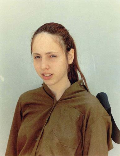 ריניקה דיקסטרה, מתוך הסידרה הפרויקט הישראלי, באדיבות גלריה זומר