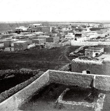 חיפה, סביבת העיר העתיקה, 1900 בקירוב
