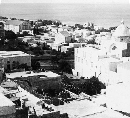 חיפה, האזור מחוץ לעיר העתיקה, 1900 בקירוב