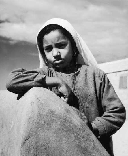 הרנאט נאקשיאן, פליטים, עזה, סוף שנות הארבעים, באדיבות סארו נאקשיאן