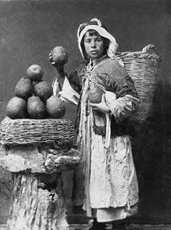 ח'ליל ראאד, ילד מוכר תפוזים